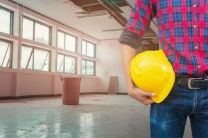 building site renovation cleanup